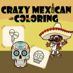 Crazy Mexican Coloring Book