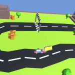Pixel Circuit Racing Car Crash
