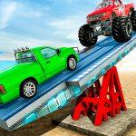 SeeSaw Ramp Car Balance Driving Challenge